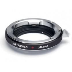 Adaptador Metabones de Objetivos Leica-M a micro-4/3