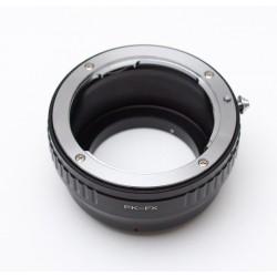 Adaptador objetivos Pentax-K para Fuji-X