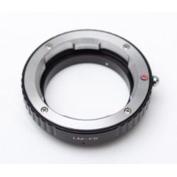 Adaptador objetivos Leica-M para Fuji-X
