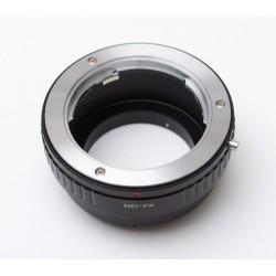 Adaptador objetivos Minolta-MD para Fuji-X