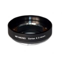 Adaptador Metabones de objetivos Contax-G para Sony NEX