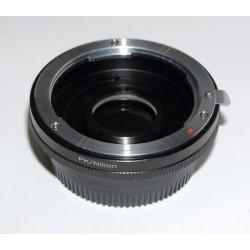 Adaptador objetivos Pentax-K para Nikon