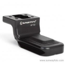 Soporte Sunwayfoto LF-C2 Pie Tele Canon