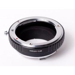 Adaptador objetivos Nikon para leica-M