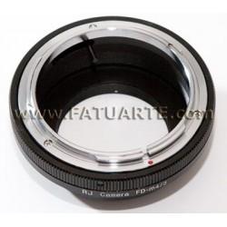 Adaptador Canon FD para Olympus micro 4/3