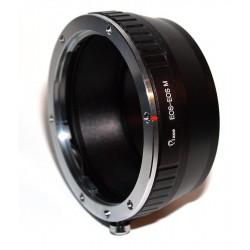 Adaptador objetivos Canon EOS para EOS-M