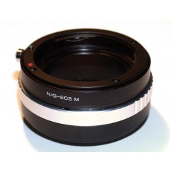 Adaptador objetivos Nikon-G para Canon EOS-M
