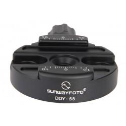 Acoplamiento discal Sunwayfoto DDY-58