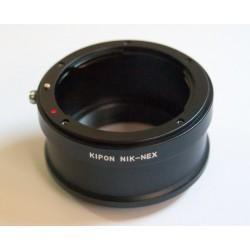 Adaptador Kipon objetivos Nikon para Sony NEX