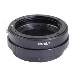 Adaptador Capa de Nikon-G para micro-4/3