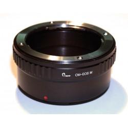 Adaptador objetivos OM para Canon EOS-M