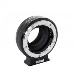 Reductor focal Metabones objetivos Nikon-G a NEX