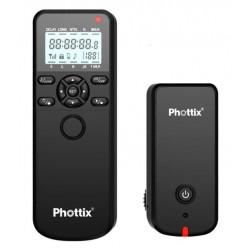 Control remoto e intervalometro a distancia Phottix Aion para Canon