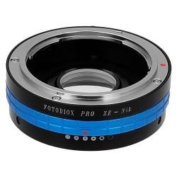 Adaptador Fotodiox de objetivos Mamiya-ZE para Nikon