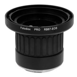 Adaptador Fotodiox de objetivos Mamiya RB67 para Canon EOS