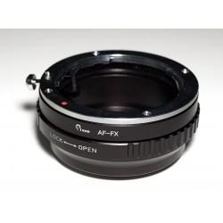 Adaptador objetivos Sony Alpha/Minolta-AF para Fuji-X