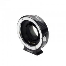 Reductor de Focal Metabones de Canon EOS a Sony montura-E