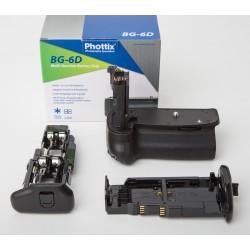 Empuñadura Phottix BG-6D para Canon EOS 6D