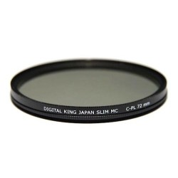 Filtro Polarizador Circular 72mm Digital King perfil fino