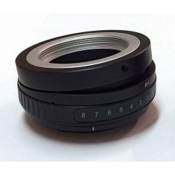 Tilt adapter for M42 lens to Sony-E mount
