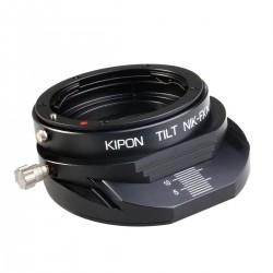 Adaptador basculable Kipon de Nikon para Fuji-X