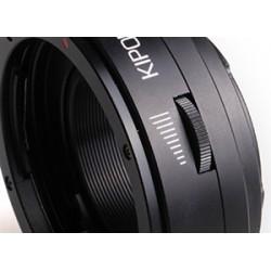 Adaptador electrónico Kipon de Canon-EF a Fuji-X