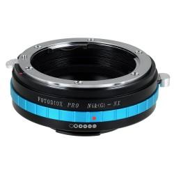 Adaptador Fotodiox Pro de objetivos Nikon-G para Samsung-NX
