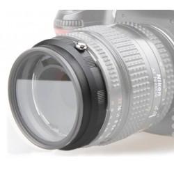Adaptador Reverso portafiltros 52mm montura Nikon
