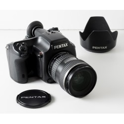 Cámara Formato Medio Digital Pentax-645D con FA 45-85 f4.5