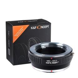 Adaptador K&F Concept Minolta-MD para Olympus micro 4/3