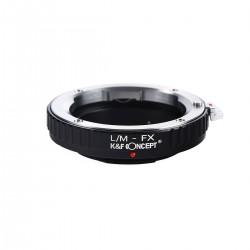 Adaptador K&F concepts de objetivos Leica-M para Fuji-X