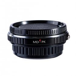 Adaptador  K&F Concept de objetivos Minolta-MD para Pentax-K