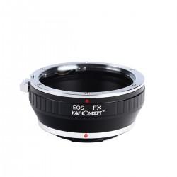 Adaptador K&F concept de objetivos Canon EOS para Fuji-X