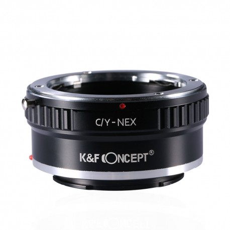 Adaptador K&F Concept de objetivos Yashica/Contax para Sony-E