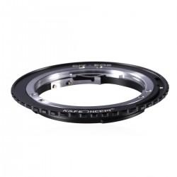 Adaptador K&F Concept Contax / Yashica para Canon EOS