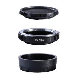 Adaptador K&F Concept objetivos Pentax-K para Nikon
