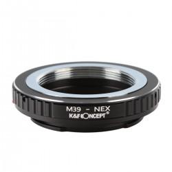 Adapt.  K&F Concept rosca M39 Leica para Sony montura-E