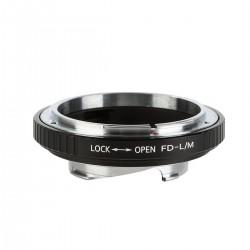 Adaptador K&F Concept de objetivos Canon-FD para Leica-M
