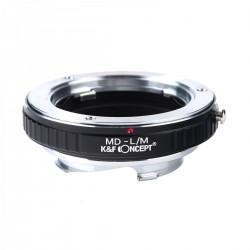 Adaptador K&F Concept de objetivos Minolta-MD para Leica-M
