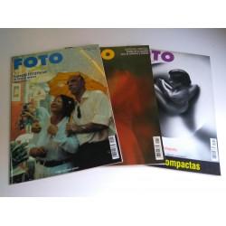 Lote 3 revistas FOTO año 2001 (nº 217, 218 y 219)
