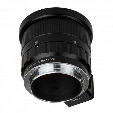 Adaptador Fotodiox Pro de objetivos Mamiya RZ/RB67 para Fuji GFX-50s