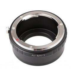 Adaptador objetivos Nikon AI a micro 4/3