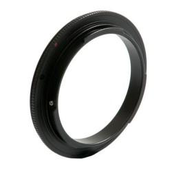 Anillo inversor K&F para montura Canon EOS EF  y EFs 62mm