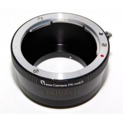 Adaptador objetivos Nikon para Olympus micro 4/3