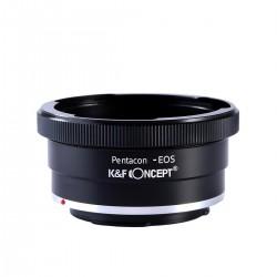 Adaptador objetivos Pentacon Six para Canon EOS