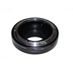 Reductor de Focal RJ de Canon FD para micro-4/3
