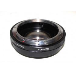 Reductor de Focal RJ de Canon FD para Sony NEX
