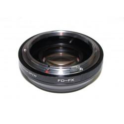 RJ Focal reducer Canon FD lens to Fuji-X
