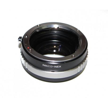 Reductor de Focal RJ de Nikon-G para Sony NEX