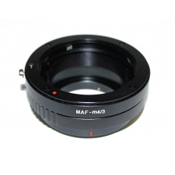 Adapter for Minolta AF lens to micro-4/3